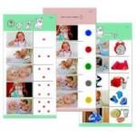 Комплект 10 карточек «Обучающий калейдоскоп® для ДО. Познание. Мой день»