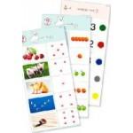 Комплект 10 карточек «Обучающий калейдоскоп® для ДО. Познание. Цифры и числа»