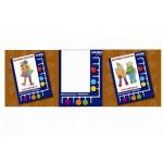 Планшет и набор карточек Одежда