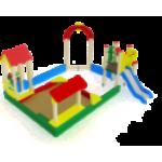 Песочный дворик с горкой                                           4440х4830х2000