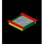 Песочница Забава мини                                           1380х1450х220