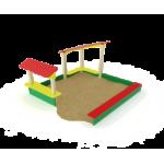 Песочный дворик                                           2600х2540х1500