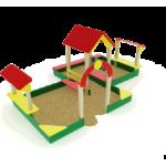 Песочный дворик большой                                           4530х3200х2000