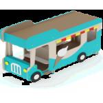 Беседка Автобус-мороженое                                           3220х1340х1800