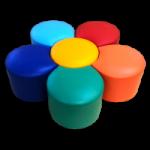 Набор пуфиков «Цветок»