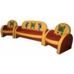 Комплект мягкой мебели «Агата»  Африка