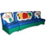 Комплект мягкой мебели «Мечта» с аппликацией «Винни-Пух»