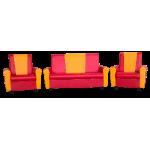Комплект мягкой мебели «Комфорт»