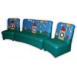 Комплект мягкой мебели «Мечта» с аппликацией «Полянка»