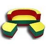 Набор игровой мебели «Солнце», трансформер