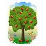Декорация «Дерево весна, зима,осень, лето