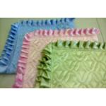 Накидка на подушку с рюшей (60*60 / 40*60 ), атлас /ультрастеп
