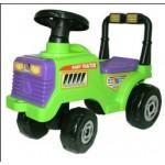 Митя, трактор-каталка..