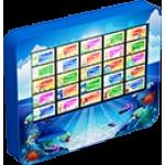 Интерактивная сенсорная панель «Аква»Базовая Экран 32