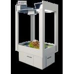 Интерактивная песочница ДОМИК 1065 × 814 × 1697 мм.  Площадь активной зоны: 0,75 м² Конструкция. Пес..