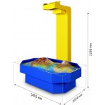 Интерактивная песочница АЛМАЗ 1470 × 1054 × 2250 мм.  Площадь активной зоны: 1,16 м²  Комплектация:К..