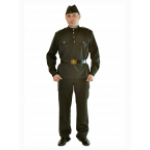 Военный костюм мужской.                                     В комплект входит гимнастерка с военным ..