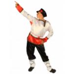 Карнавальный костюм Иванушка.   В комплект входят штаны, рубаха и картуз.  (уточнять по наличию)..