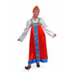 Карнавальный костюм Марья-искусница.    В комплекте: сарафан, кокошник. (уточнять по наличию)..