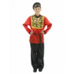 Карнавальный костюм Хохлома для взрослых.                                                           ..