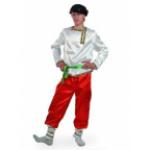 Карнавальный костюм Ванюшка.  В комплект входят штаны, рубаха-косоворотка с поясом и кепка. (уточнят..