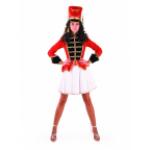 Карнавальный костюм Мажоретка.                      В комплекте:мундир, юбка, кивер...