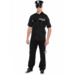 Карнавальный костюм Полицейский.              В комплект входят брюки и рубашка, очки, фуражка и нар..