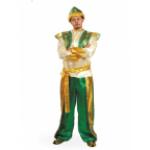 Карнавальный костюм Султан.                           В комплекте: рубаха с жилетом, шаровары, тюрба..