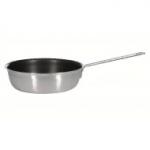 Сковорода  240/70 из нержавеющей стали с высокими бортами..