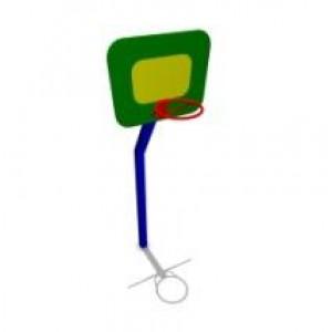 Баскетбольная стойка большая 1180*1050*3170