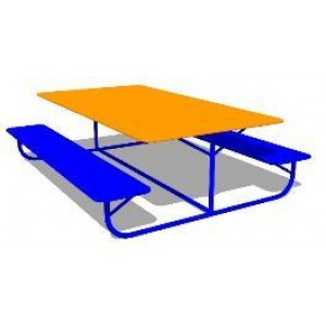 Стол со скамейками «Друзья»