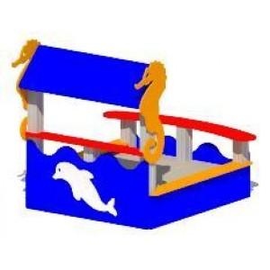 Песочница «Морской конек»