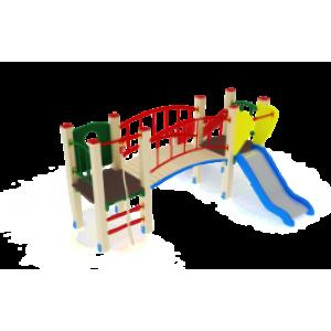 Детский игровой комплекс                           Карапуз Горка 750                                           2680х2880х1500