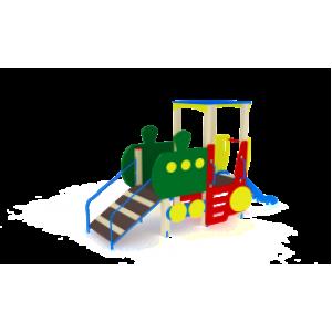 Детский игровой комплекс                          Паровозик Горка 750                                           4250х1230х2550