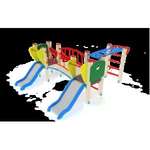 Детский игровой комплекс                           Карапуз Горка 750                                           3100х4030х1500