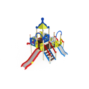 Детский игровой комплекс                           Морской Горки 900, 1200, 1500                                           6570х6910х4220