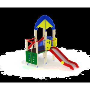 Детский игровой комплекс                           Космопорт Горка 1200                                           4380х1930х4220