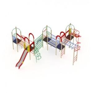 Детский игровой комплекс                           Навина Горка 1200                                           11030х9410х3200