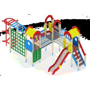 Детский игровой комплекс                           Городок Горка 1200                                           7570х3540х3000