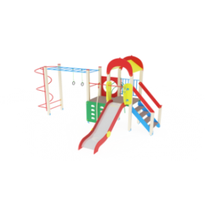 Детский игровой комплекс                       Играйте с нами Горка 1200                                           6030х4890х3000