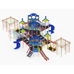 Детский игровой комплекс                           Морской Горки 1200, 2000                                           16400х11840х4450