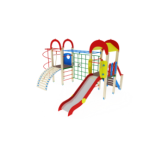 Детский игровой комплекс                          Рада Горка 1200                                           5400х4360х3000