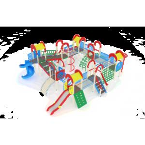Детский игровой комплекс                           Остров детства Горки 1200, 2000                                           9880х9960х4000