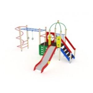 Детский игровой комплекс                          Навина Горка 1200                                           5980х4890х3200