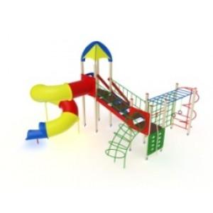 Детский игровой комплекс                          Космопорт Горка-труба                                          6730х4220х4720