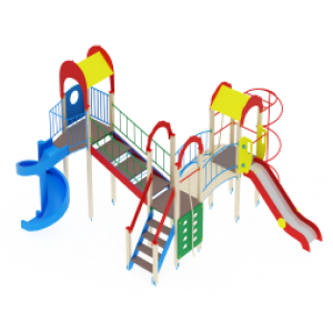 Детский игровой комплекс                           Городок Горки 1200, 2000                                           7220х7080х4000