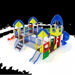 Детский игровой комплекс                            Космопорт Горки 750, 1500, 2000                                           7170х8170х4220