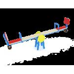 Качалка-балансир со спинкой                                           2500х450х820..