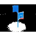 Стойка баскетбольная двойная                                           1220х2670х3600..