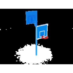Стойка баскетбольная двойная                                           1220х2670х3600